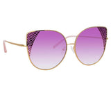 Matthew Williamson 227 C5 Oversized Sunglasses
