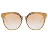 Matthew Williamson Dahlia C2 Oversized Sunglasses