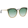 Matthew Williamson Dahlia C3 Oversized Sunglasses