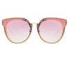 Matthew Williamson Dahlia C4 Oversized Sunglasses