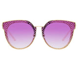 Matthew Williamson Dahlia C5 Oversized Sunglasses