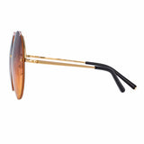 Matthew Williamson 242 C1 Round Sunglasses