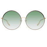 Matthew Williamson Poppy C2 Round Sunglasses