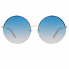 Matthew Williamson Poppy C3 Round Sunglasses
