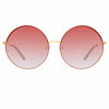 Matthew Williamson Poppy C4 Round Sunglasses