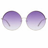 Matthew Williamson Poppy C5 Round Sunglasses
