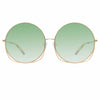Matthew Williamson 248 C2 Oversized Sunglasses