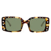 N°21 S21 C2 Rectangular Sunglasses