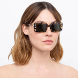 N°21 S34 C2 Rectangular Sunglasses