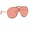 N°21 S53 C2 Aviator Sunglasses
