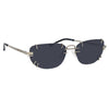 Y/Project 2 C1 Aviator Sunglasses