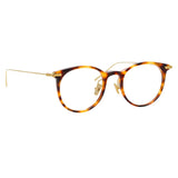 Linda Farrow Linear 03 C9 D-Frame Optical Frame