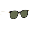 Linda Farrow Linear Stern C8 Square Sunglasses