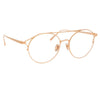 Linda Farrow Mina C10 Oval Optical Frame