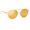 Linda Farrow 825 C1 Oval Sunglasses