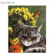 Sleeping Cat Paint By Number Kit
