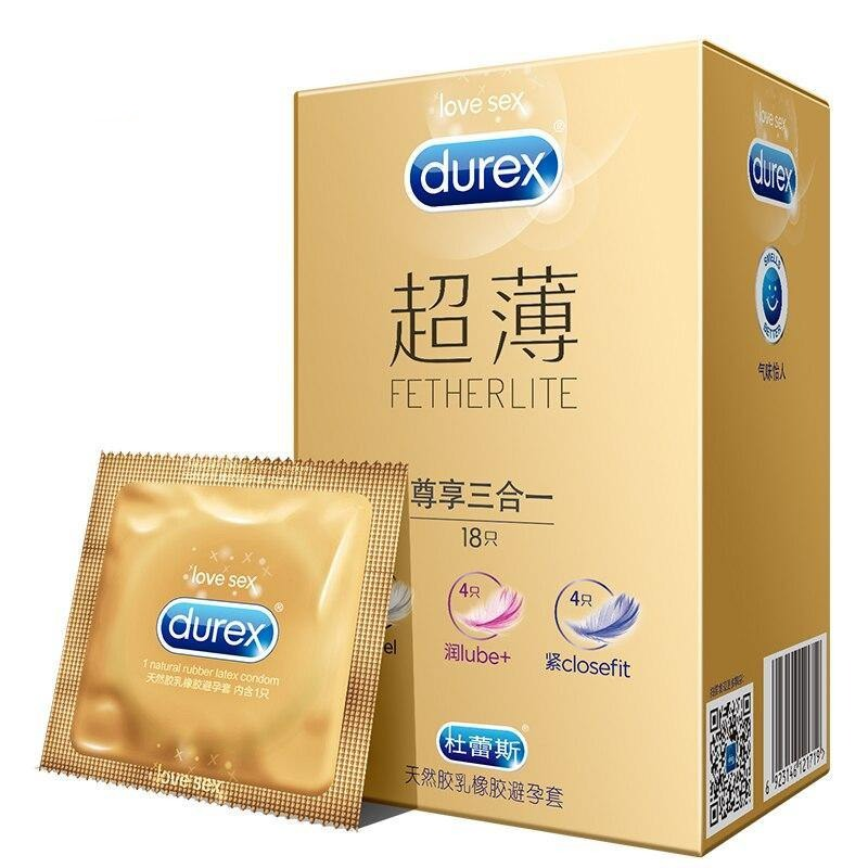 Durex Condom Super Feeling 3in1 18 Pieces - Love Power
