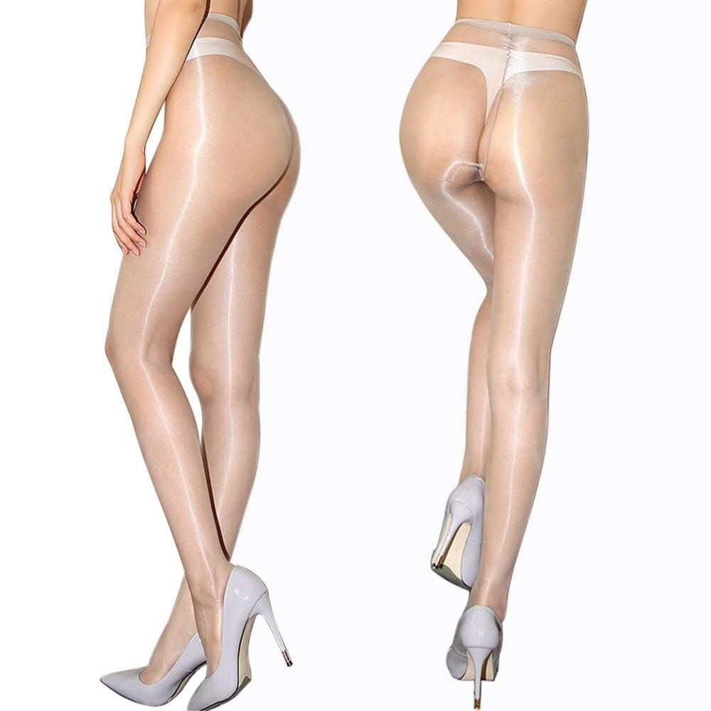 Ultra-Thin Oil Shiny Pantyhose