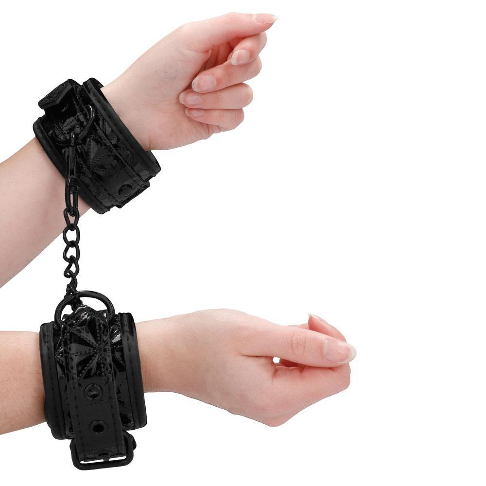 Luxury Black Handcuffs - Love Power