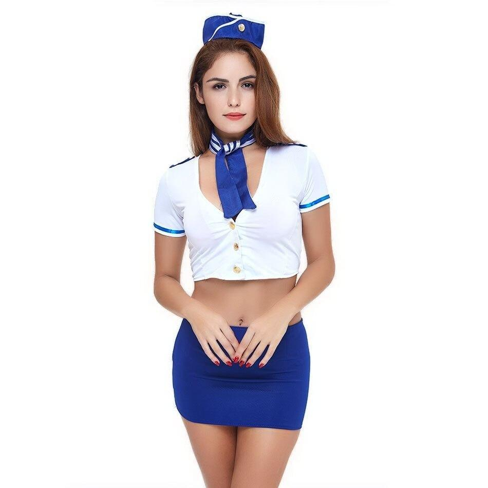Sexy Flight Attendant Costume