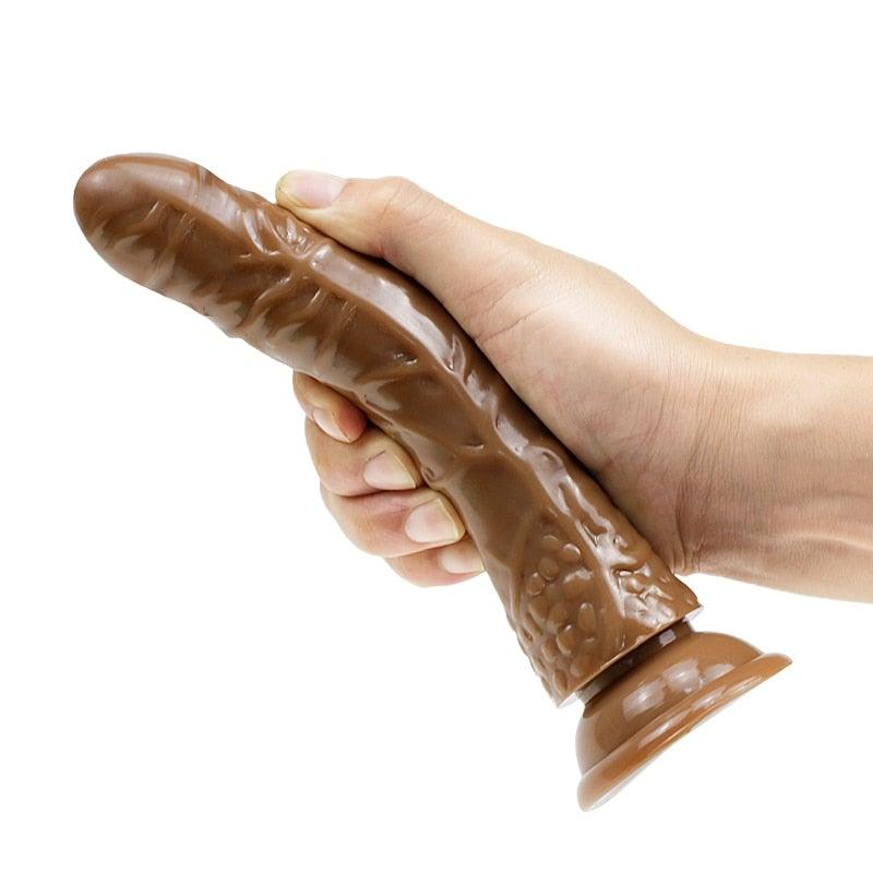 Realistic Jelly Dildo - Trade Power