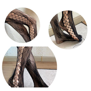 Hot Rhinestone Pantyhose
