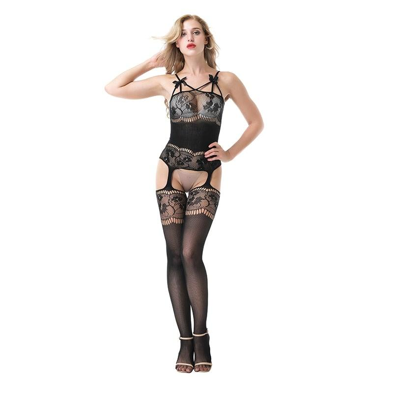 Women's Sexy Bodystocking - Trade Power