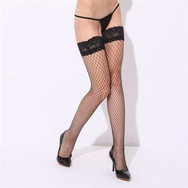 Fishnet Stay Up Stocking - Trade Power