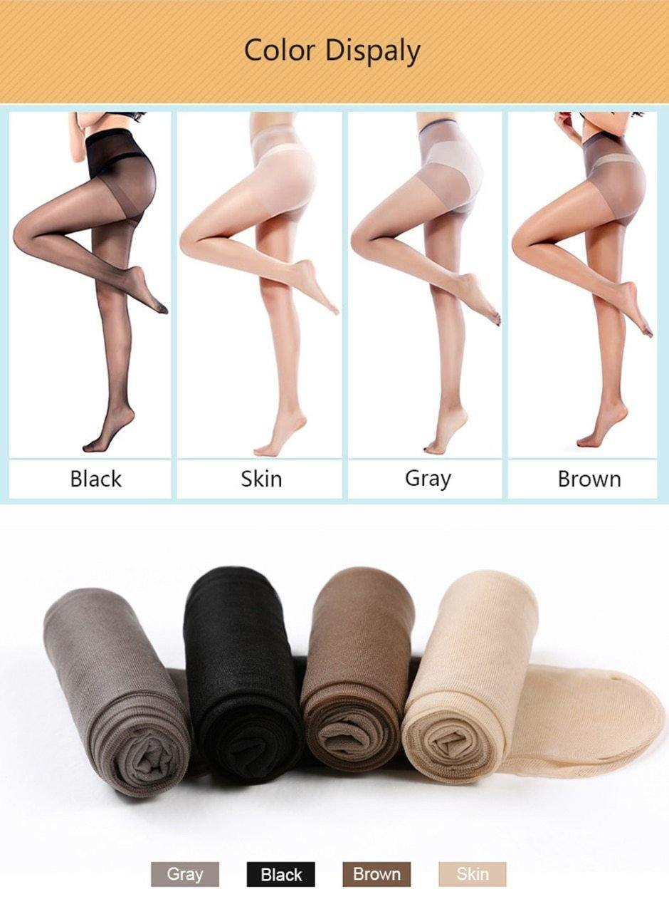 7 Pieces 15D Sexy Ultra-thin Breathable Pantyhose - Trade Power