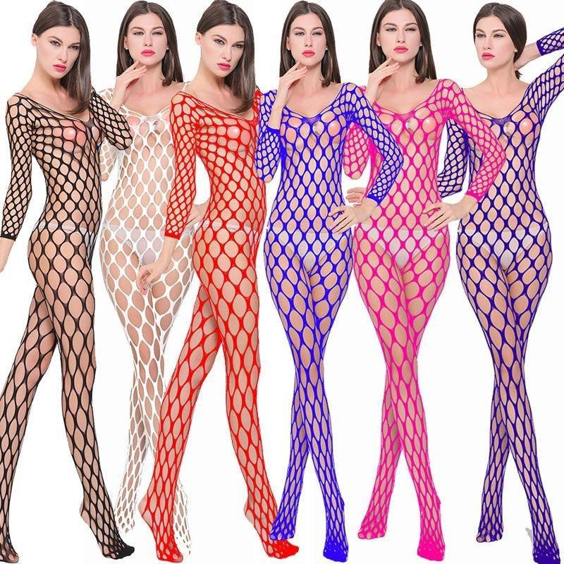 Women's Erotic Bodystocking 12 Color - Trade Power