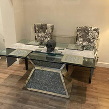 Load image into Gallery viewer, Crushed Diamond Dining Table