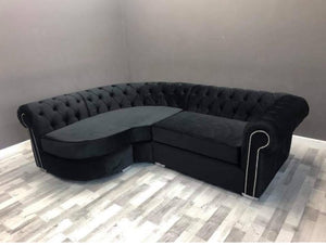Curved Chesterfield Corner