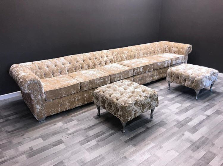 Long Chesterfield Lounge set