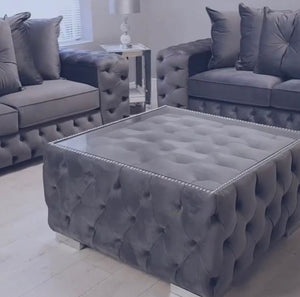 Buttoned Coffee Table