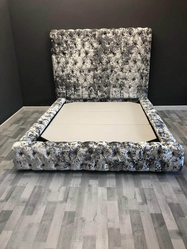 Double Crushed Velvet Divine Bed