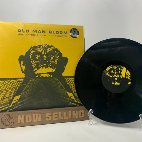 Old Man Gloom - Meditations In B Vinyl LP Black Reissue