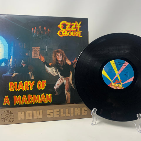 Ozzy Osbourne - Diary Of A Madman Vinyl LP Original 1st Press Pitman