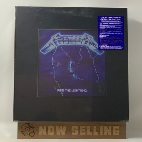 Metallica - Ride The Lightning Vinyl LP Deluxe Box Set Numbered NEW RARE