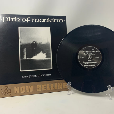 Filth Of Mankind - The Final Chapter Vinyl LP 2006 Reissue