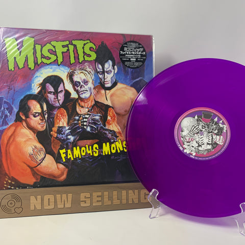 Misfits - Famous Monsters Vinyl LP Purple Translucent Original 1st Press RARE