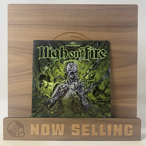 "High On Fire - Slave The Hive Vinyl 7"" Black"