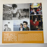 The All-American Rejects Self Titled S/T Vinyl LP Red/Clear/Blue w/ 7""