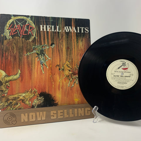 Slayer - Hell Awaits Vinyl LP Original 1st Press Chain Labels