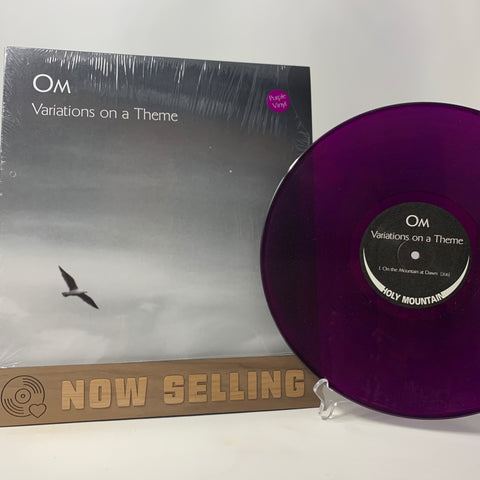 OM - Variations On A Theme Vinyl LP Original 1st Press Purple RARE Sleep