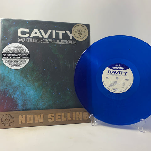 Cavity - Supercollider Vinyl LP Blue Floor Torche