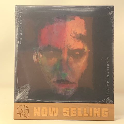 "Marilyn Manson - We Are Chaos Vinyl LP Deluxe w/ 7"" Clear Splatter"