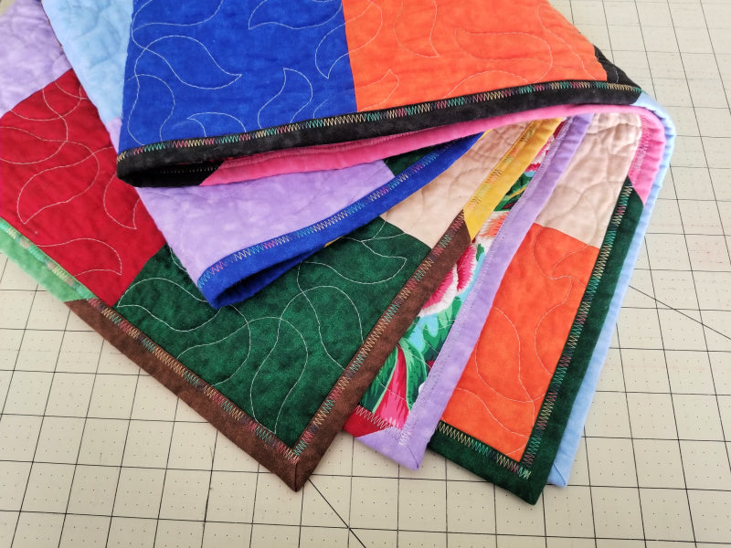 Machine Quilt Binding Tutorial