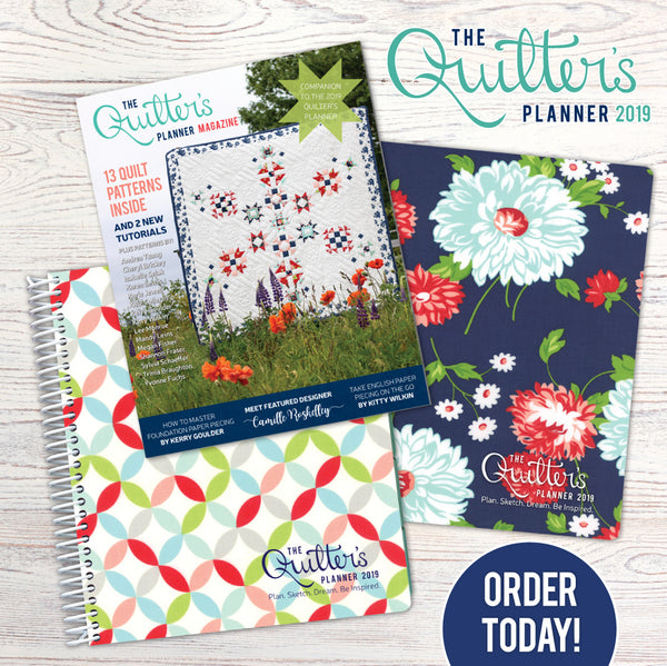 Order your Quilters Planner