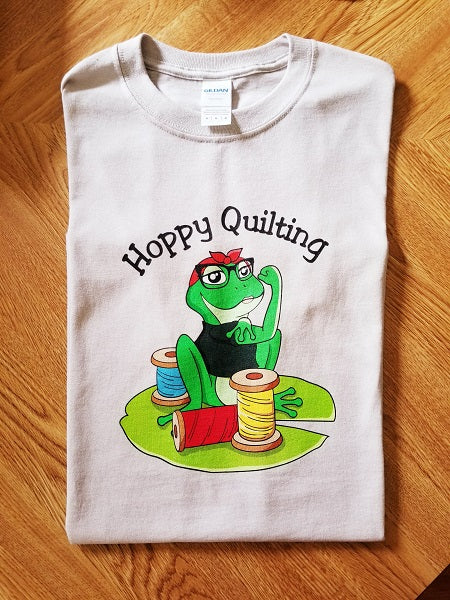 Hoppy Quilting T-shirt