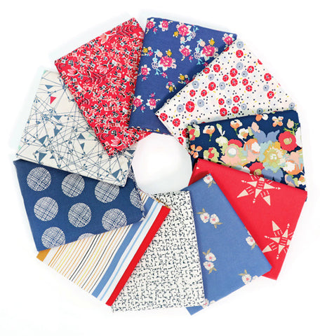 Americana Fat Quarter Bundle, Art Gallery Fabrics